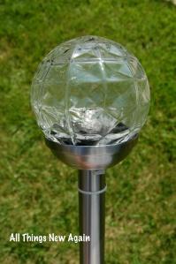 DIY Solar Chandelier_Big Goblet