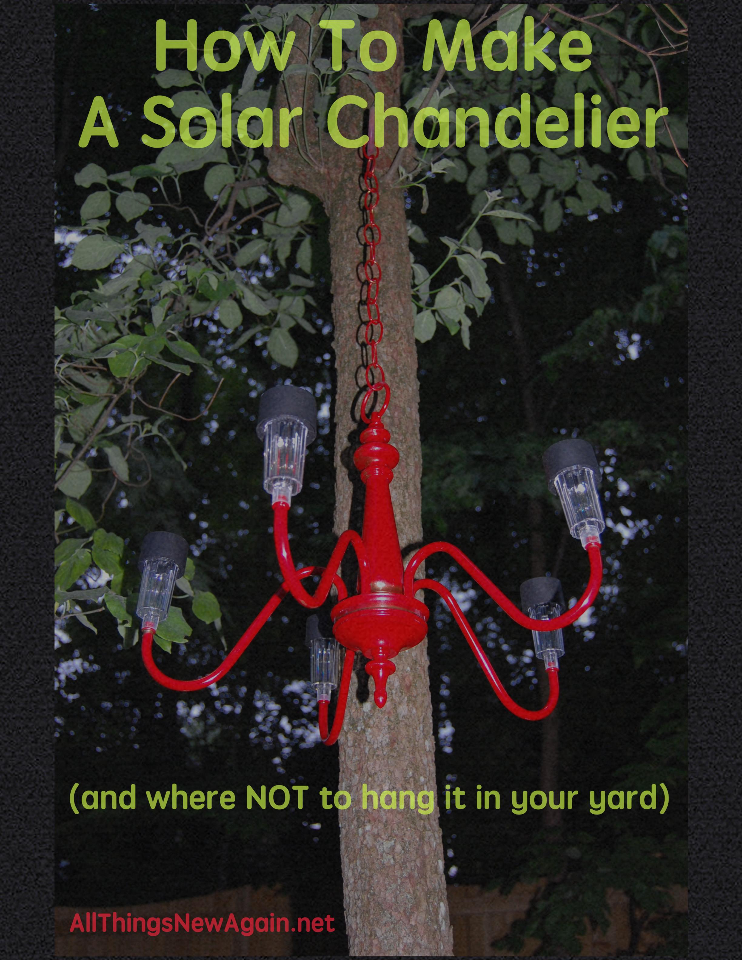 Diy solar chandelier all things new again diy solar chandelier arubaitofo Choice Image