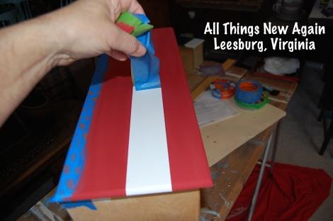 flag dresser_untaping