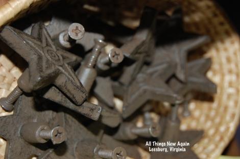 metal star drawer pulls