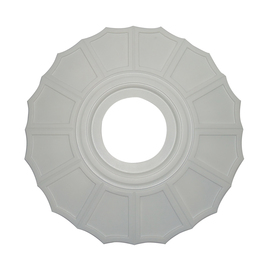 ceiling medallion_before
