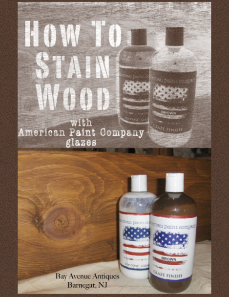 How To Stain Wood With APC Glazes