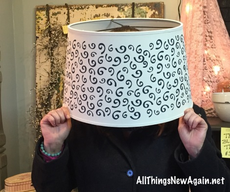 lamp_lampshade on head