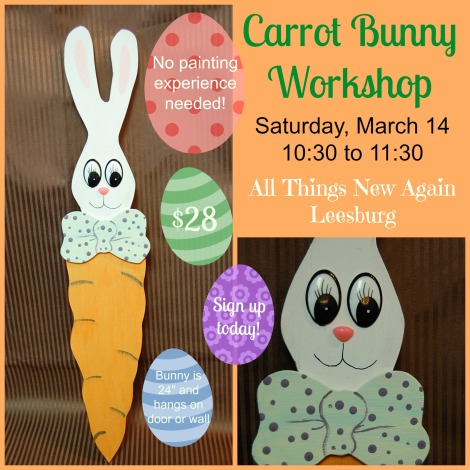 Carrot Bunny Workshop AD