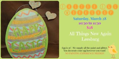 Easter Egg Workshop AD