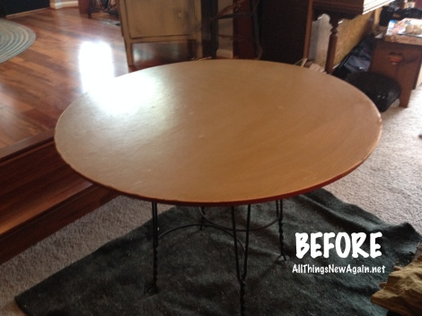lazy susan table_before