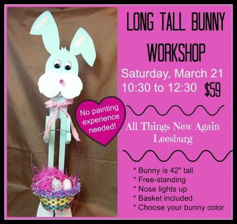 Long Tall Bunny Workshop AD