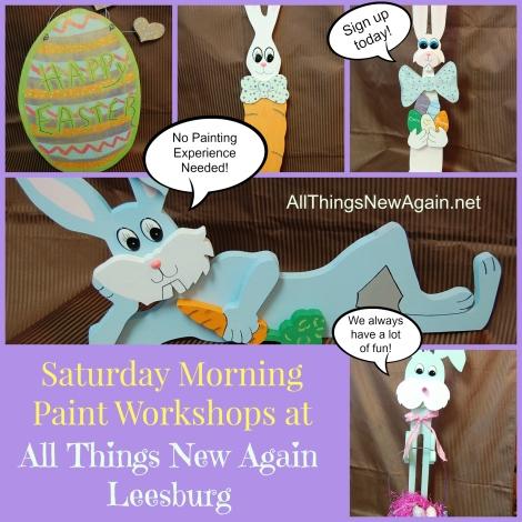 Spring Workshop Collage