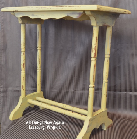yellow milk paint table1