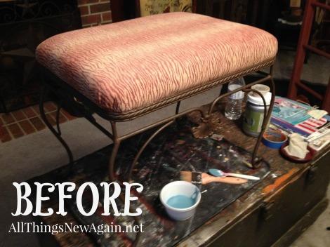 vanity stool_before