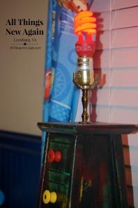 traffic light lamp2_red bulb