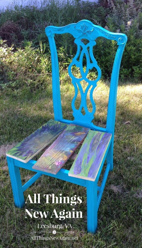 A tale of two chairs how i learned the hard way how to for What is spit paint