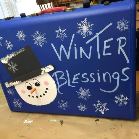 mom winter blessings suitcase