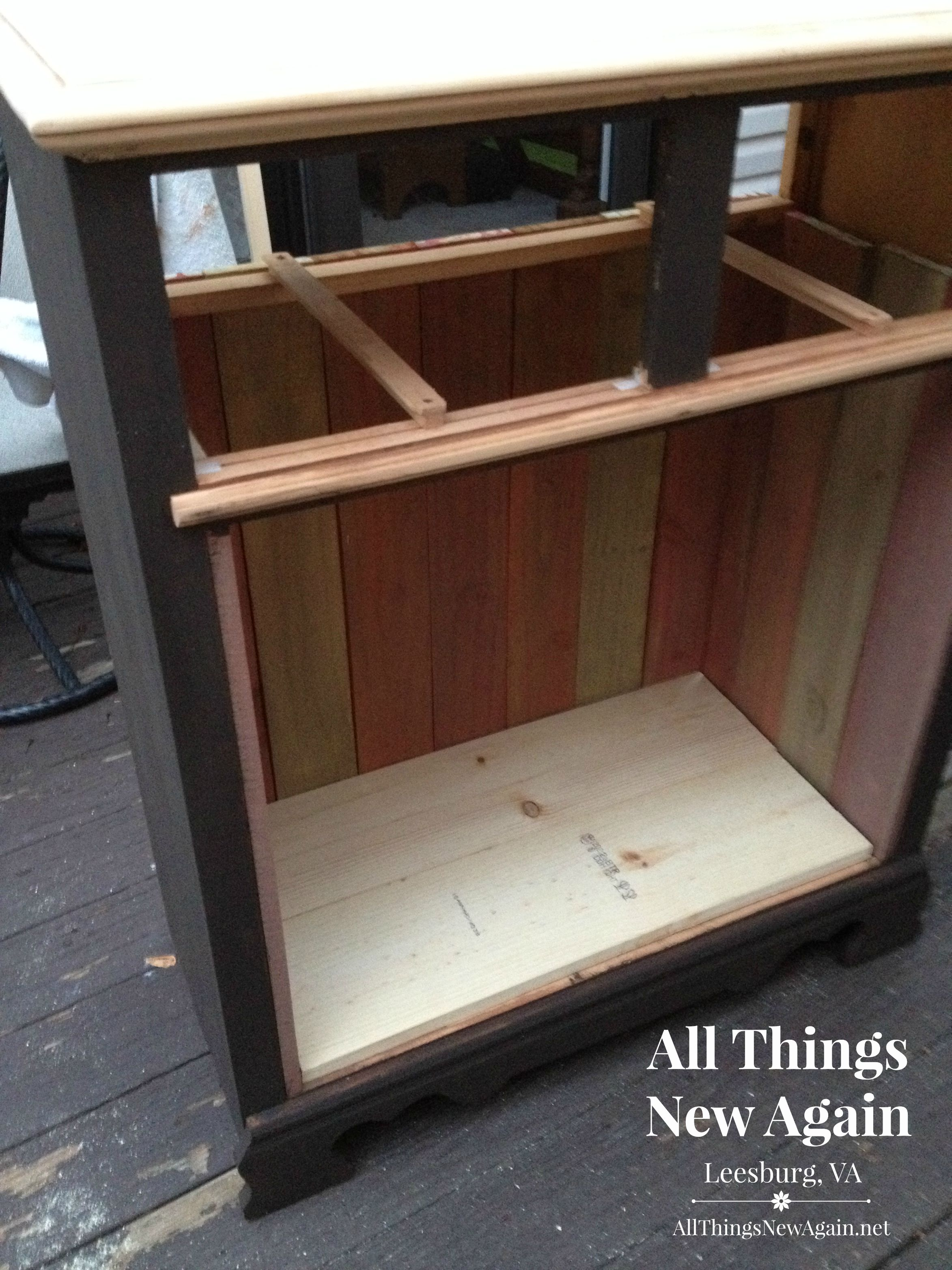 How To Turn An Ordinary Chest Of Drawers Into A Rustic