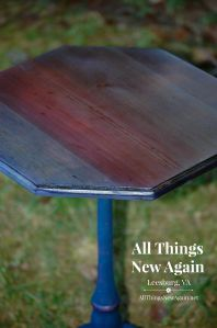 Courtney blue spit table_closeup