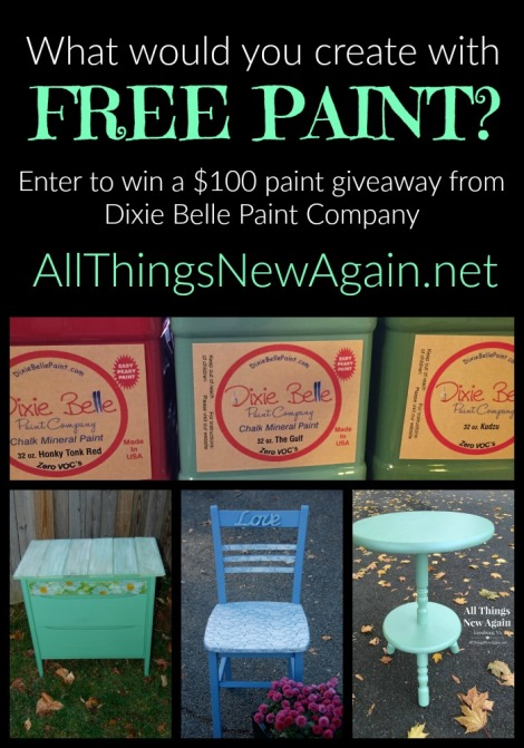 Dixie Belle Paint Giveaway