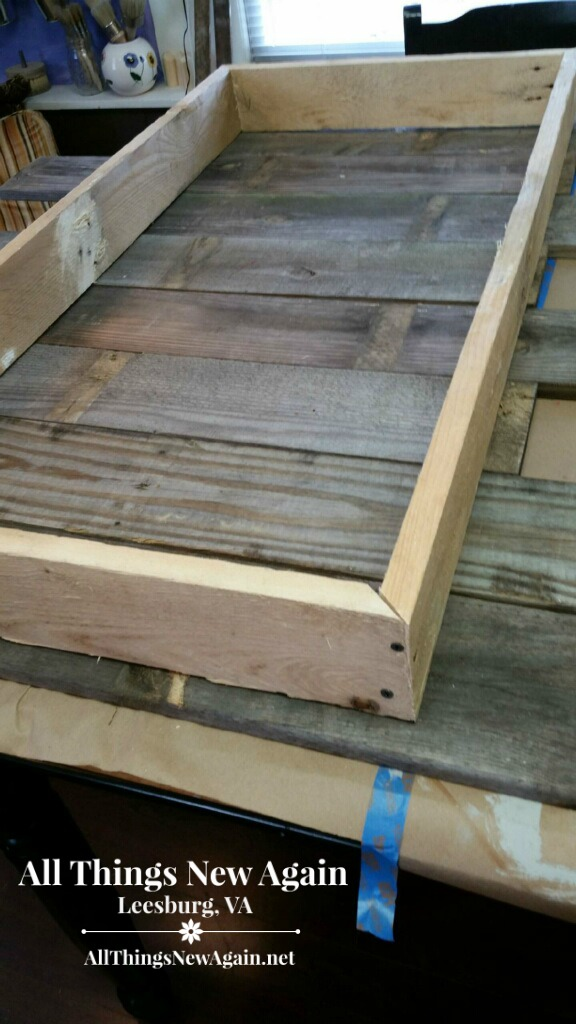 A Custom-Built Wood Pallet Table … And Our New Real Milk ...