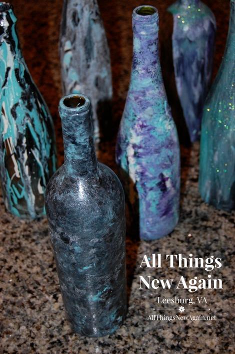 Unicorn Spit wine bottle art2