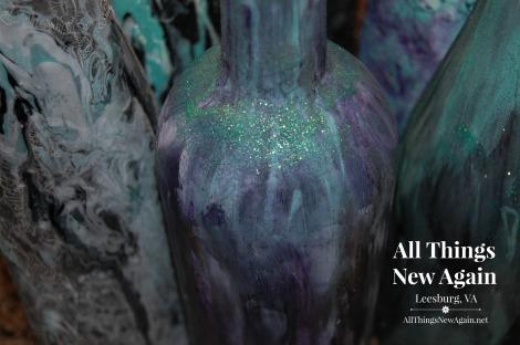 How To Create Wine Bottle Art With Unicorn Spit Rainbow