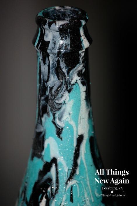 unicorn spit wine bottle_closeup