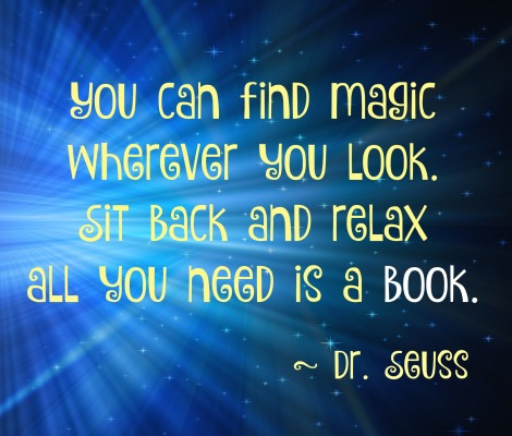 Book Nook Quote
