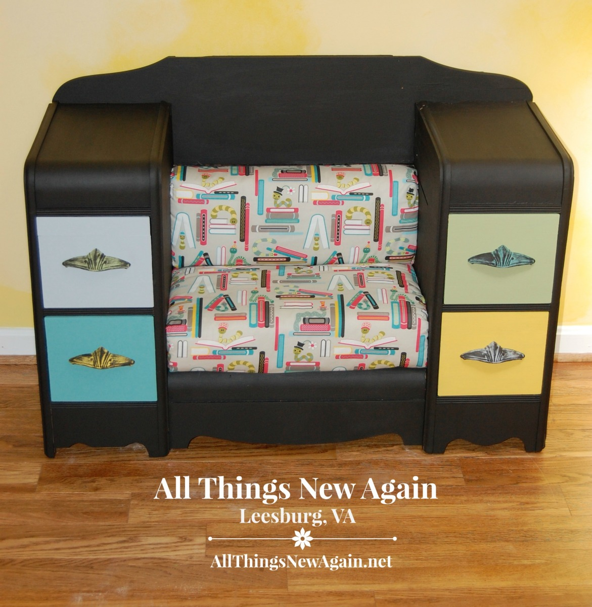 March Fab Furniture Flippin Contest Kids Book Nook All
