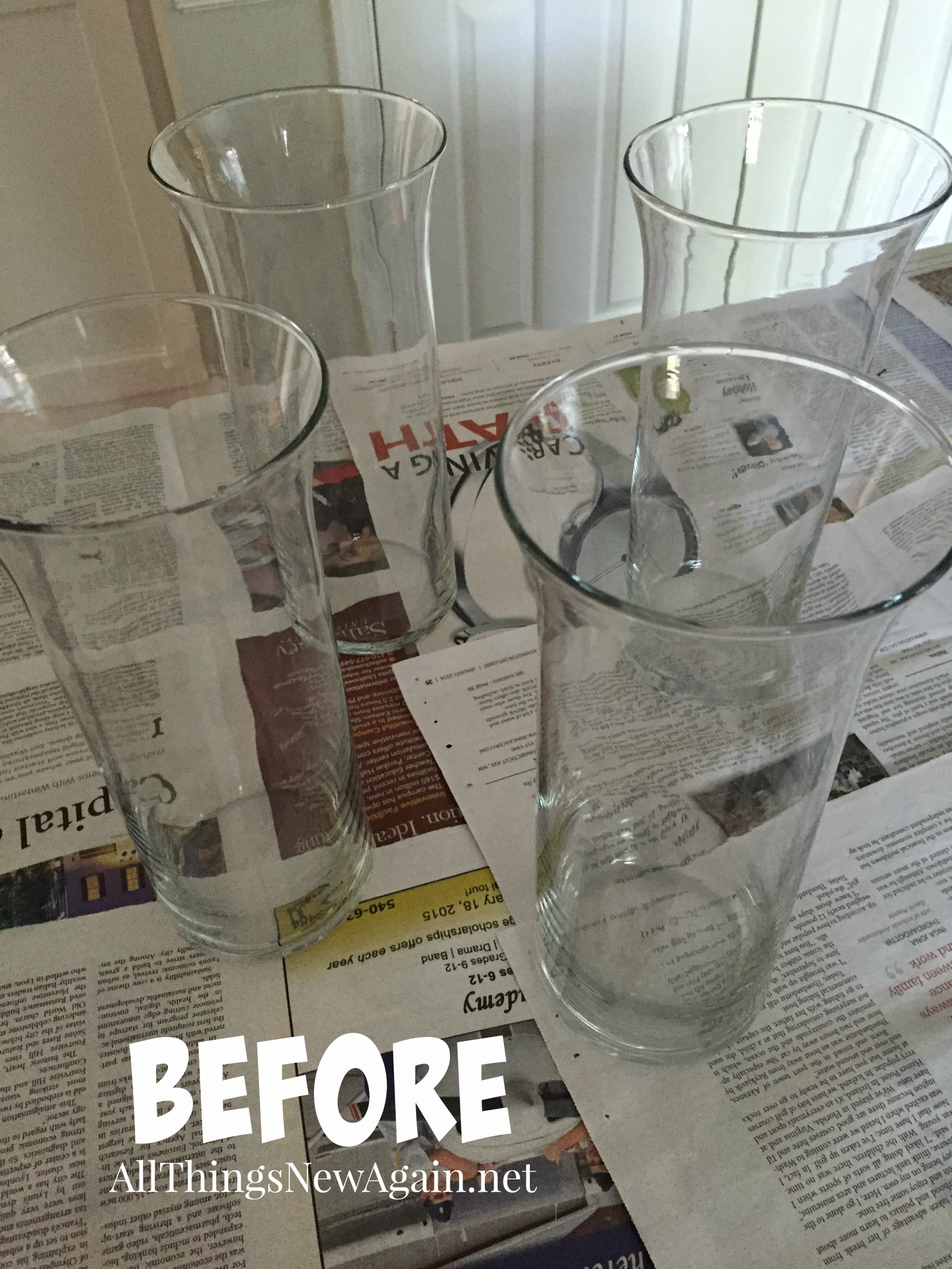Transform ordinary 1 vases with unicorn spit rainbow gel stain clear vasesbefore reviewsmspy