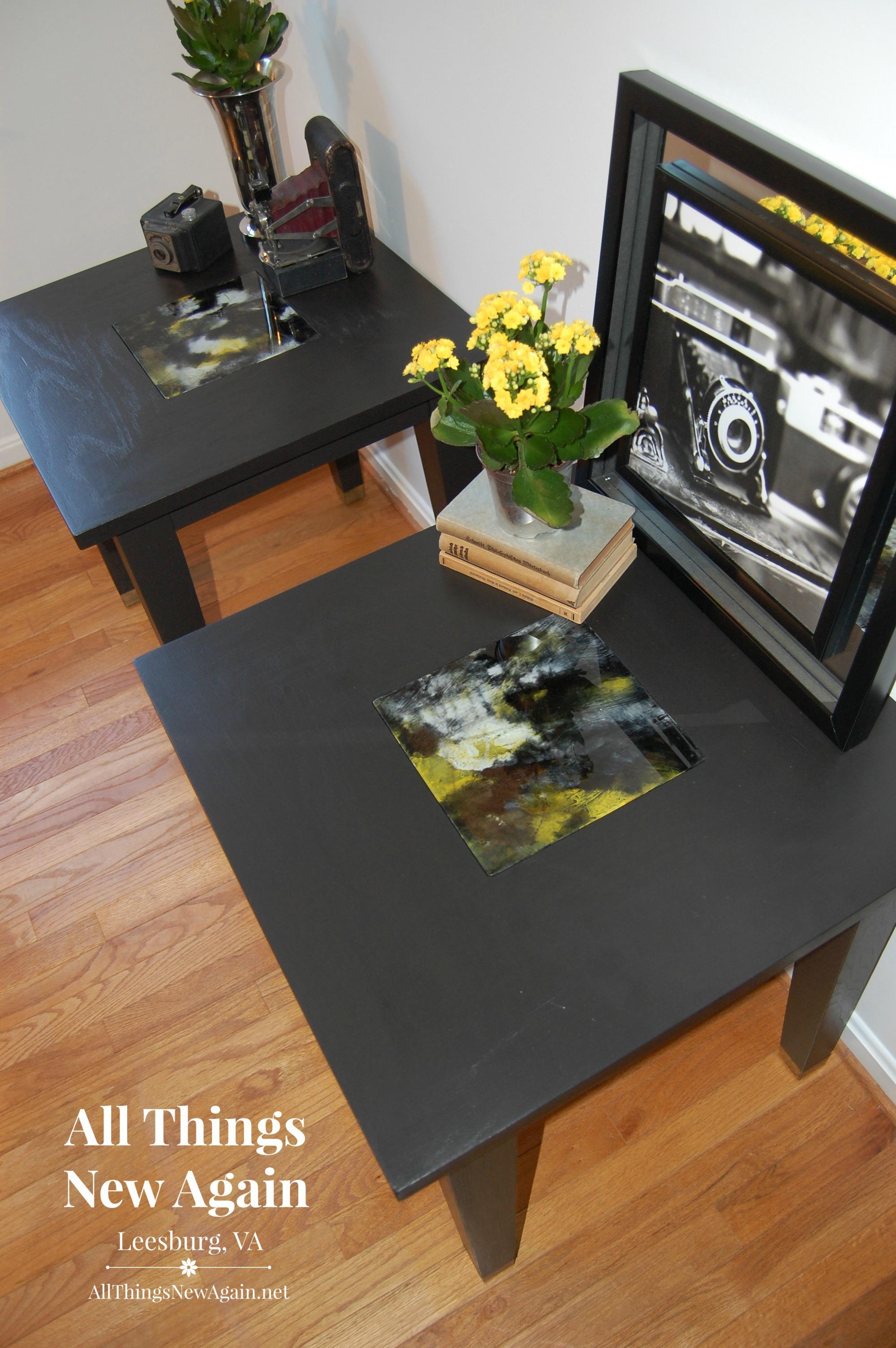 Elegant Black Unicorn Spit Tables2 Nice Look