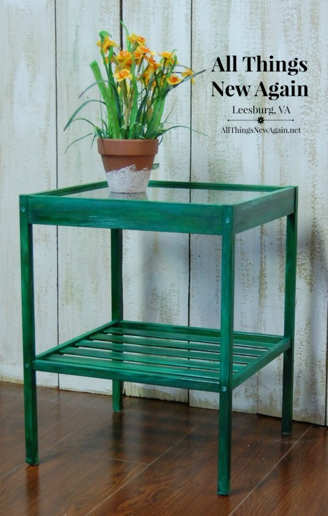 Green Furniture Makeovers | Painted Furniture | Unicorn Spit Projects | Green Table Ideas and Inspiration
