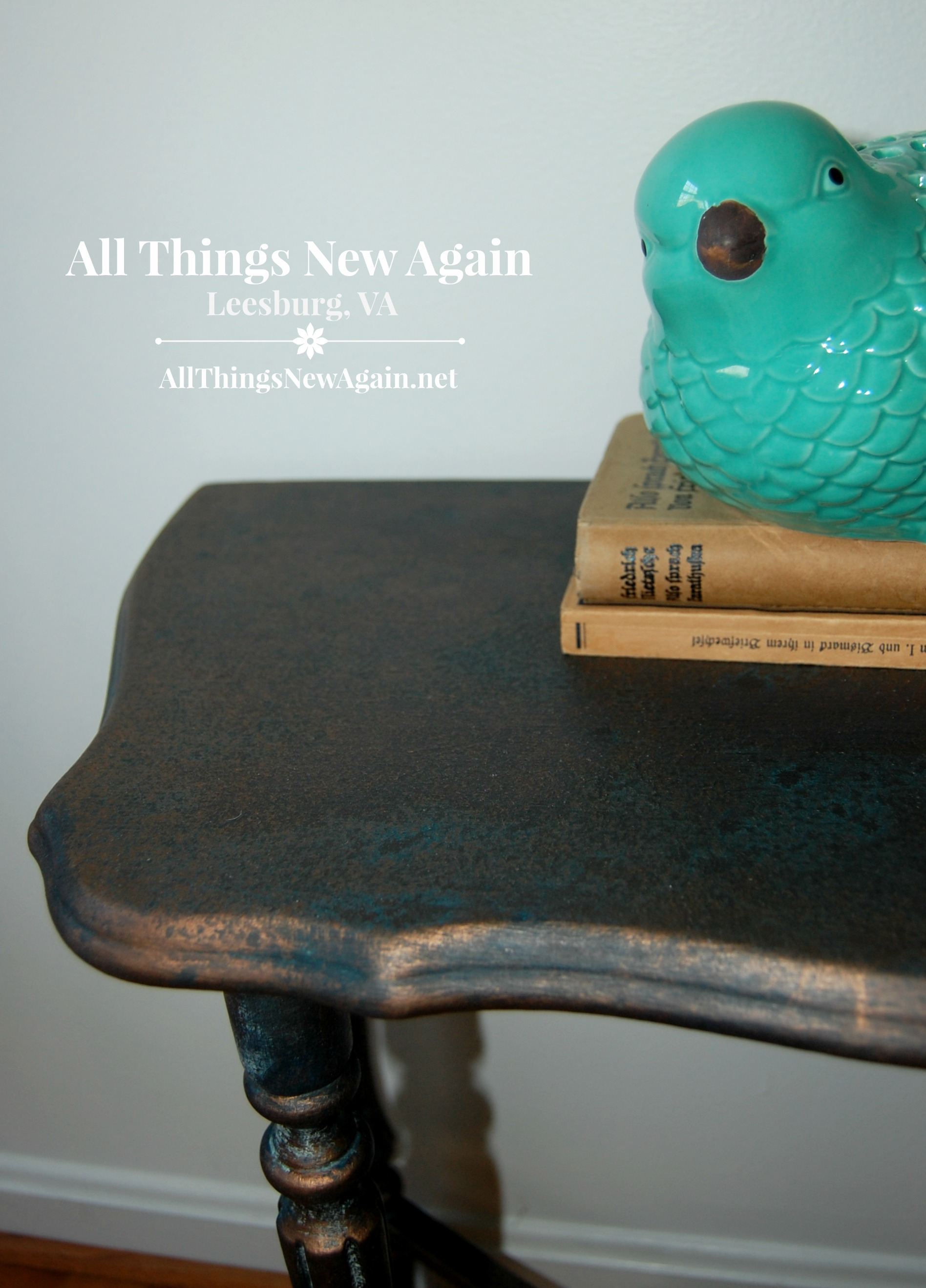 Wonderful ... Dixie Belle Paint Co.   Patina Collection   Bronze Table   Patina  Furniture DIY  