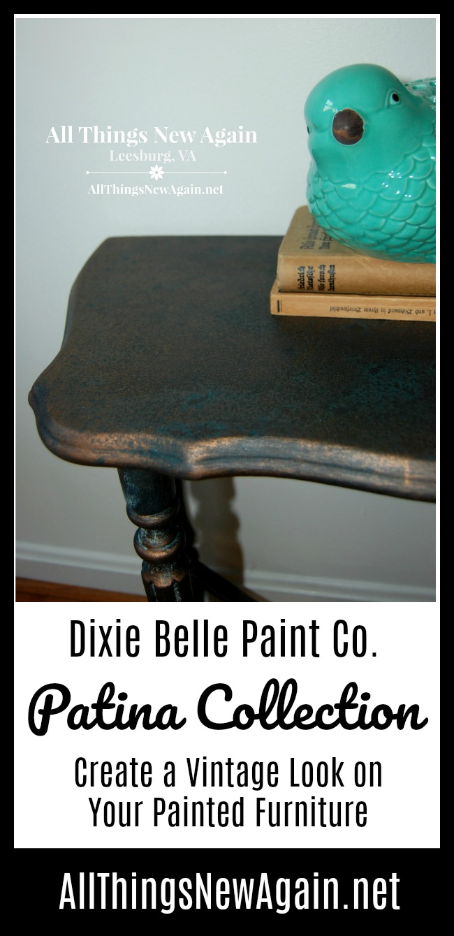 How To Create Vintage Patina And Rust On Painted Furniture And Home Decor    Dixie Belle