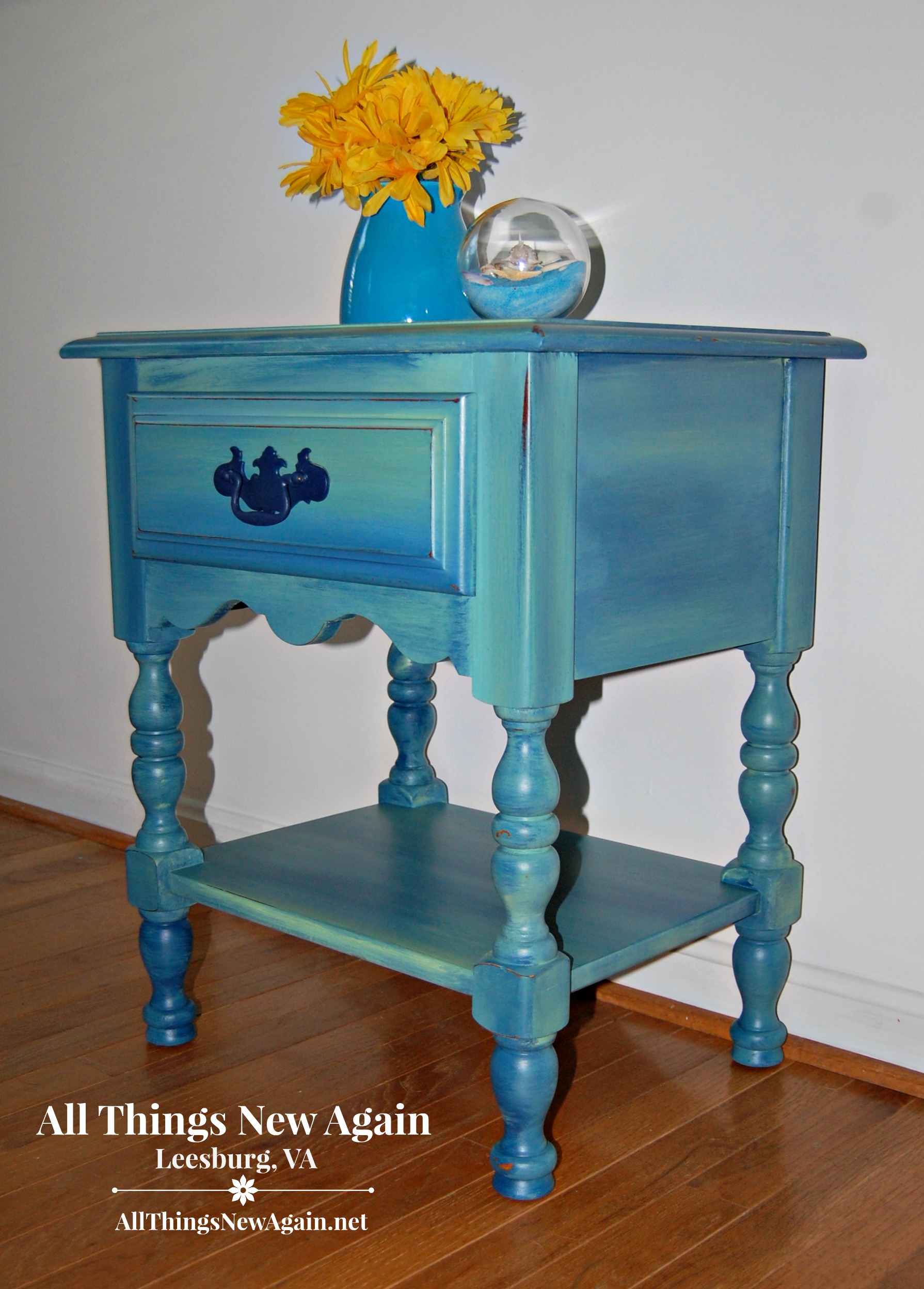 Pretty Painted Nightstands On Sale At All Things New