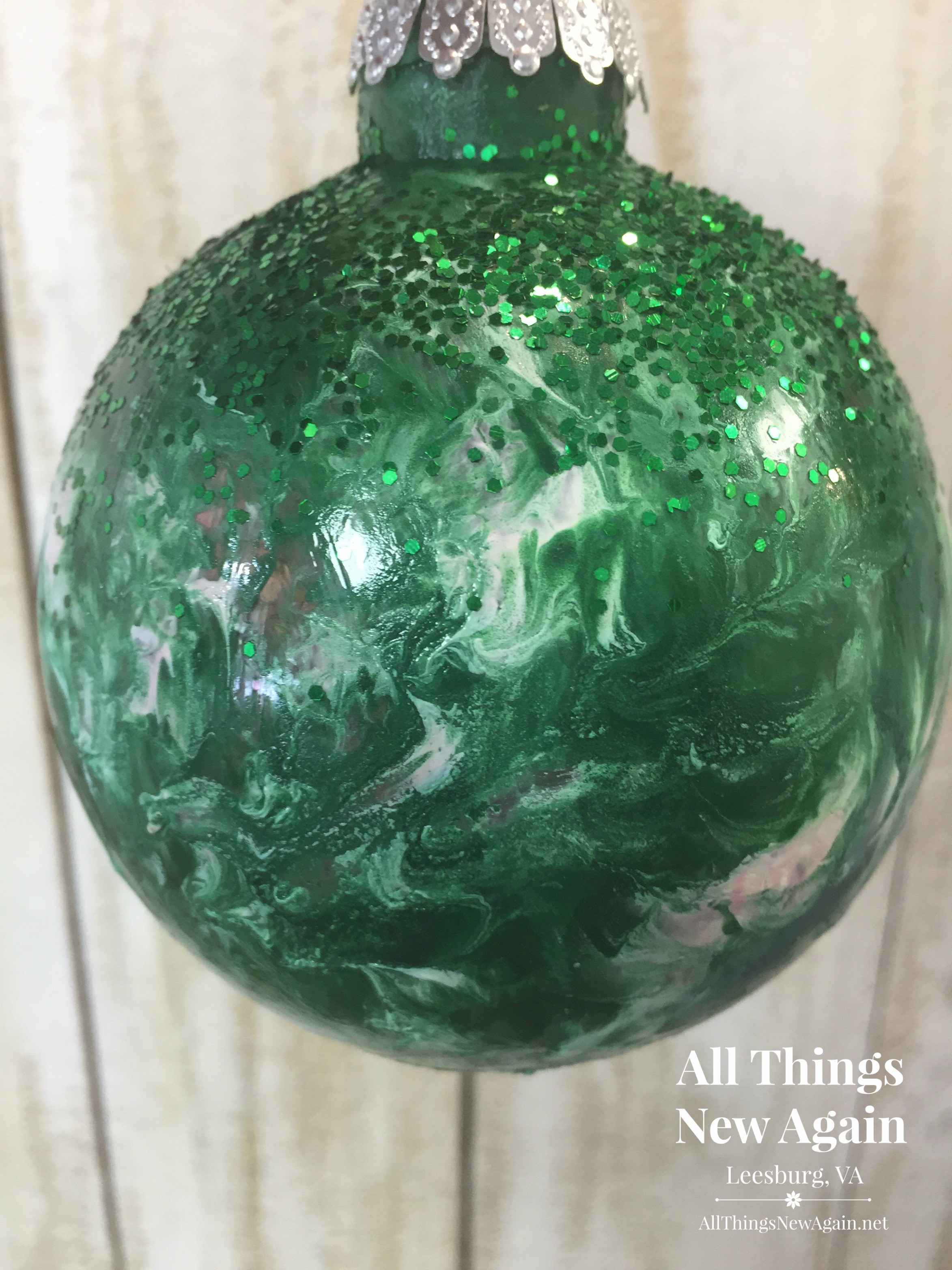 how to create gorgeous glass decor with unicorn spit