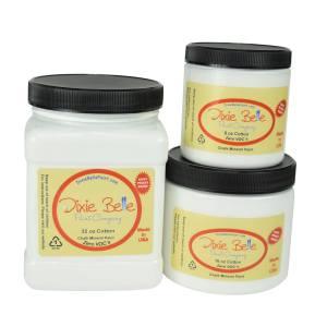 Dixie Belle Paint | chalk mineral paint | Cotton | bright white paint | farmhouse white