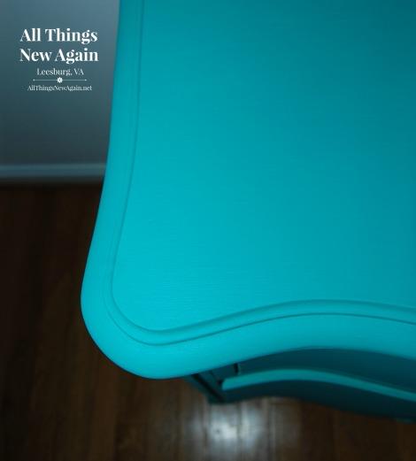 Painted Furniture | Dixie Belle Paint | chalk mineral paint | Mermaid Tail | teal painted furniture