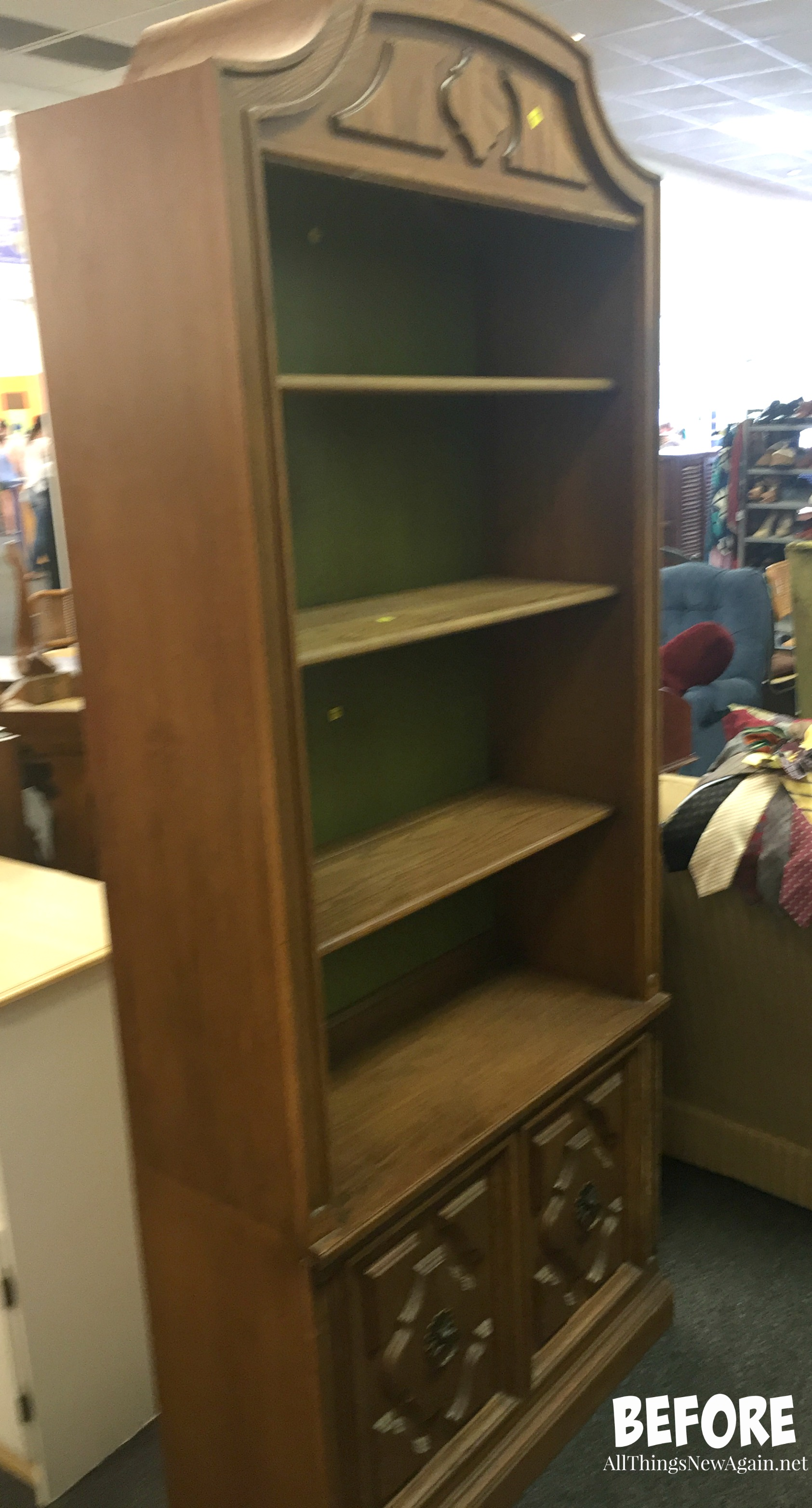 Wonderful If You Found This Outdated China Cabinet, Would You Buy It?